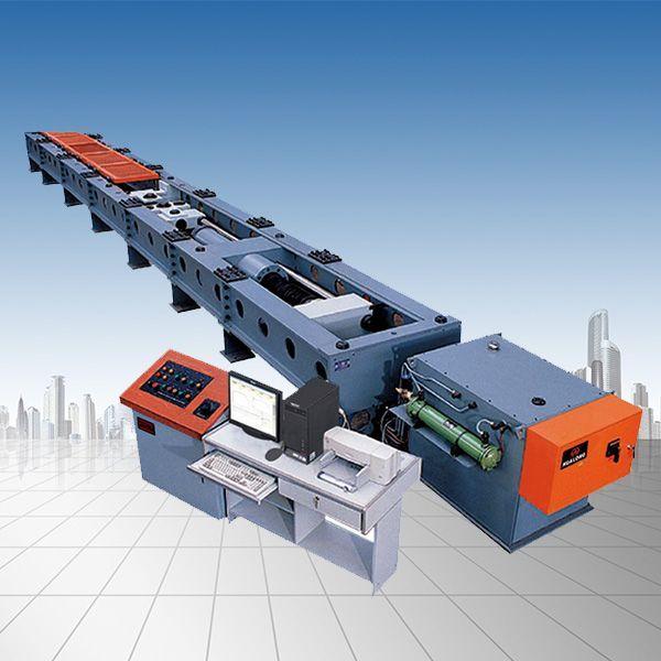 600吨微机控制卧式拉力试验机